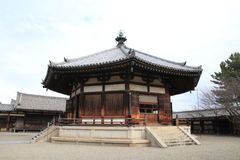 Vision hall of Horyu ji in Nara Royalty Free Stock Images