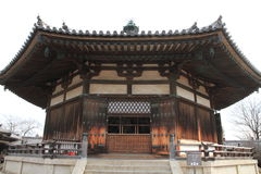 Vision hall of Horyu ji in Nara Royalty Free Stock Photography