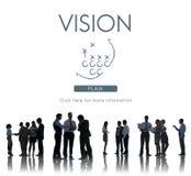 Vision Ideas Inspiration Direction Dreams Goals Concept Stock Photo