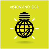 Vision and ideas sign Royalty Free Stock Image