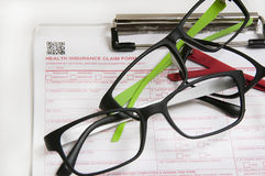 Vision Insurance glasses2 Stock Photography
