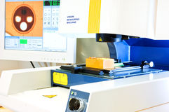 Vision measuring instrument Stock Photo