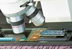 Vision measuring system Stock Photos