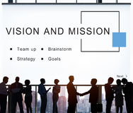 Vision And Mission Startup Strategy Goals Concept Royalty Free Stock Image