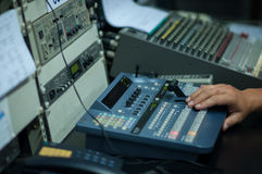Vision mixing panel Stock Photography