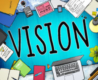 Vision Motivation Mission Inspiration Planning Concept Stock Photos