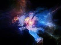 Vision of Nebulae Royalty Free Stock Image
