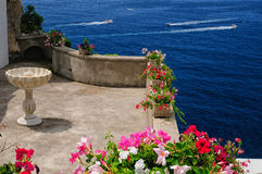Vision på den Amalfi kusten Royaltyfria Foton