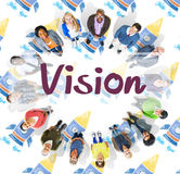 Vision Planning Motivation Organization Business Concept Royalty Free Stock Photo