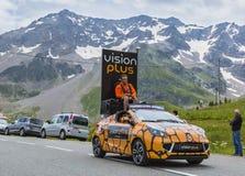 Vision Plus Vehicle - Tour de France 2014 Royalty Free Stock Image