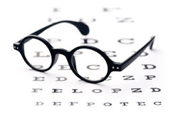Vision screening Royalty Free Stock Photos