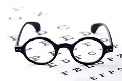 Vision screening Royalty Free Stock Images