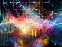 Vision of Sound Wave Stock Photo