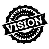 Vision stamp rubber grunge Stock Photography