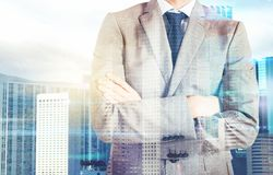 Vision of success Stock Photos