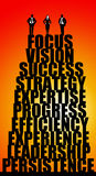 Vision and success Stock Images