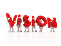 Vision Team Royalty Free Stock Images