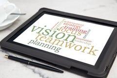 Vision teamwork Royalty Free Stock Photo