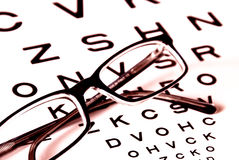 Vision test Royalty Free Stock Photography