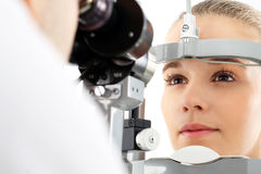 Vision test Royalty Free Stock Photo