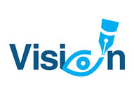 Vision Theme Logo Concept Royalty Free Stock Photography