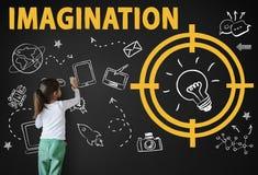 Vision Thinking Progress Invention Design Graphic Concept. Vision Thinking Progress Invention Design Graphic stock photo