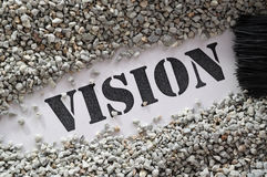 Vision treasure word series Stock Images