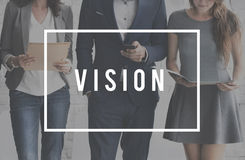 Vision Visionary Imaginary Expection Concept stock image