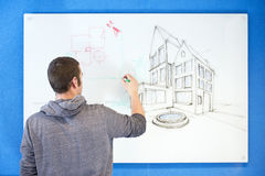 Visionary architect Royalty Free Stock Images