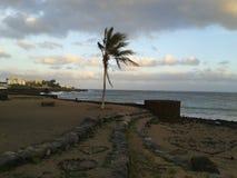 Visione della spiaggia Immagini Stock