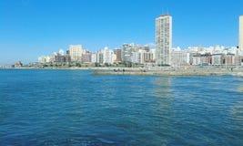 Visione della spiaggia Fotografie Stock Libere da Diritti