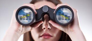 Visione di affari Immagini Stock Libere da Diritti