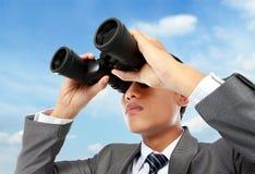 Visione di affari Fotografie Stock Libere da Diritti