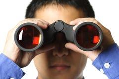 Visione di affari Fotografia Stock
