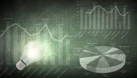 Visione di affari Immagine Stock