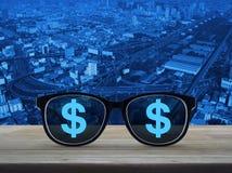 Visione di affari e concetto di successo Immagini Stock Libere da Diritti