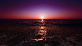 Visione di tramonto Immagini Stock