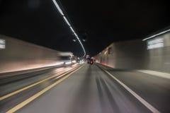 Visione di tunnel fotografie stock