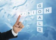 Visione e scopi Immagine Stock Libera da Diritti