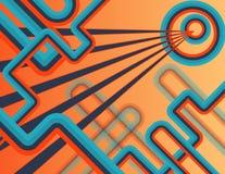 Visione geometrica Fotografia Stock