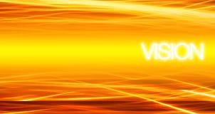 Visione - priorità bassa di tecnologia Fotografia Stock Libera da Diritti