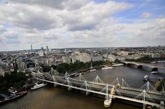 Visionnement Londres - de taxi Photos libres de droits