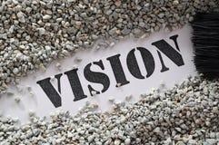 Visionsschatzwort-Reihe Stockbilder