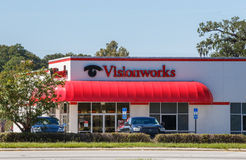 Visionworks Retail Store Royalty Free Stock Images