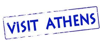Visit Athens Royalty Free Stock Image