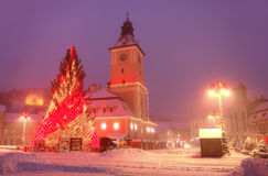 Visit Brasov Romania Stock Photography