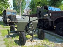 Bucharest Military museum - weapons Royalty Free Stock Photography