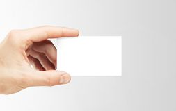 Visit card Royalty Free Stock Photography