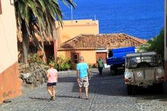 Visit charming villages Stock Photo