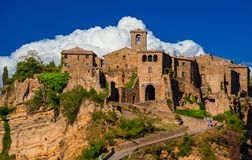 Visit Civita Di Bagnoregio Old Town Royalty Free Stock Photography